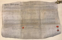 PENNSYLVANIA INDENTURE MIFFLIN COUNTY, 1798, LARGE VELLUM DOCUMENT WITH SEALS