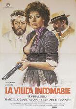 La viuda indomable -- Cartel de Cine Original --