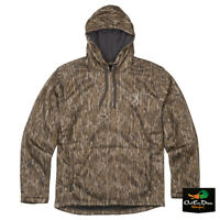 NEW BROWNING WICKED WING HIGH PILE FLEECE HOODIE - MOSSY OAK BOTTOMLAND CAMO -