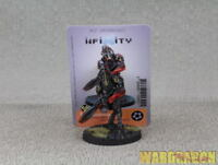 40mm Infinity WDS painted Combined Army The Charontids - Plasma Rifle (1)g8