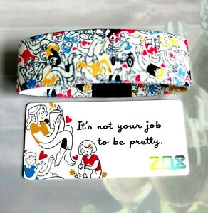 ZOX Strap JUST BE YOU - Reversible Wristband - ZOX Blog Release - Blue Stitch
