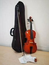 More details for primavera violin p100 4/4 size with bow & case - ah 81555