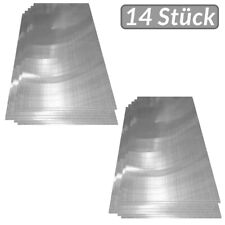 Deuba® 14x Polycarbonat Hohlkammerstegplatten 4mm | 10,25 m² Doppelstegplatte