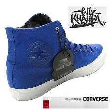 Wiz Khalifa's Converse All Stars 10.5 Men's Blue Taylors W/ Grey Camo Accent