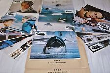 ORCA ! c rampling  jeu 18 photos cinema lobby cards 1977 no jaws , orque