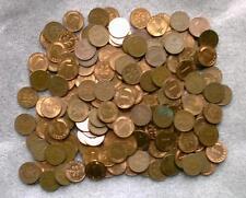 200 Stück 1-Pfennig-Münzen, unsortiert