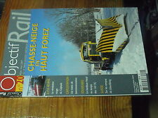 3µ? revue Objectif Rail n°20 Chasse neige en Haut Forez CAPITOLE 141 TC X 2800