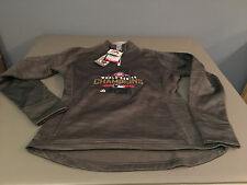 NWT Majestic Cubs World Series On Field Issued Hooded Sweatshirt Womens SMALL