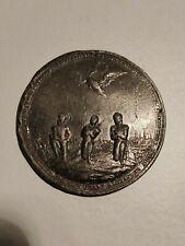 Rare Médaille de 1813, guerre Napoléon, bataille des nations prés de Leipzig