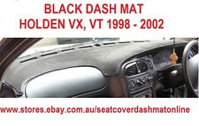 DASH MAT, DASHMAT, DASHBOARD COVER FIT  HOLDEN VX, VT 98-02,  BLACK