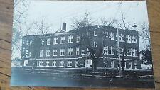 Vintage RPPC Old School Building,Unknown Town, Your school, perhaps?