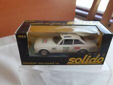 1/43 Solido  No.1055 Peugeot 504 Coupe V6 #02 Rally - Rare