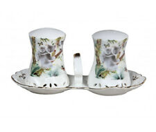 French Country Chic Collectable Salt and Pepper Set AUSTRALIAN WILDLIFE New
