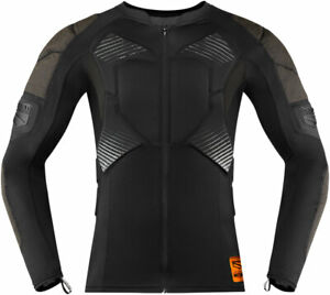 Icon Field Armor Compression Shirt (Black) Choose Size