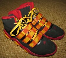 Adidas Powercrush G21107 Size 14 Black/Red/Gold Basketball Shoes