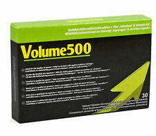 30 PILLS TABLETS NATURAL MAN VOLUME 500 IMPROVES SEX AND POWER SPERM