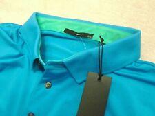 Greyson Golf Performance Fabric Katonah Blue Polo Golf Shirt NWT XXL $95