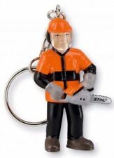 STIHL chainsaw Woodcutter Timber Man KEYRING Highly Collectable!!!!!