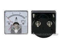 0 - 15 A DC Einbau Messinstrument Analog Amperemeter mit Shunt - CLASS 2,5
