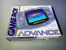 Nintendo Game Boy GameBoy Advance Handheld System Glacier Brand New Mint