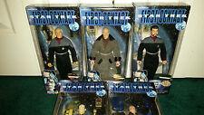 """Star Trek 9"""" First Contact LOT Jean-Luc Picard William Riker Data Zefram MISP"""