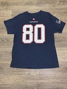 Houston Texans andre johnson shirt mens sz Large