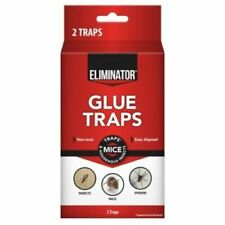 Eliminator® Glue Trap Spider Insect Scorpions Mice Ants Roaches 2 Pack Non Toxic
