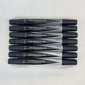 Prismacolor Premier 7 Double End Marker Lot Cool Grey PM 108 - 116 10% 90%