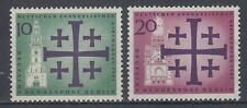 Germany Berlin 1961 ** mi.215/16 Evangelischer eucarístico | Church-Congress