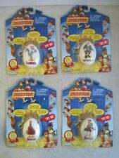 Lot Of 4 Sealed Moc Vtg 2000 Chicken Run Talking Collectible Clip Ons Playmates