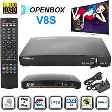 GENUINE OPENBOX V8S HD Freesat Smart TV Satellite Receiver Box For Skybox F5S UK