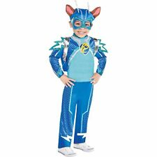 PAW Patrol Chase Light Up Costume for Boys, Jumpsuit, Headpiece, Backpack