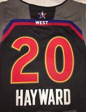 NBA NWT Utah Jazz GORDON HAYWARD #20 Size XL ALL STAR 2017 Jersey Boston Celtics