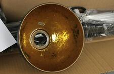Relaxdays Vintage-Design Pendelleuchte Hängeleuchte 4 Metallschirme Schwarz M5-2