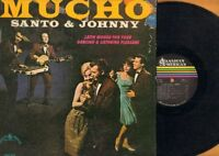 Santo & Johnny - Mucho - Latin Moods For Your Dancing LP Vinyl Record EX/VG+