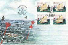 Aland Frama ATM Sailboats Buoy Beacons Aland Finland FDC 2009
