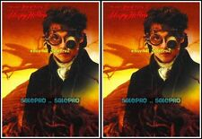 2x PARAMOUNT PICTURES 1999 TIM BURTON'S SLEEPY HOLLOW MOVIE SAMPLE PROMO #P1 LOT