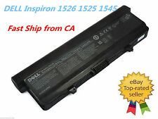 OEM Genuine 9 Cell Battery for DELL Inspiron 1526 1525 1545 1546 0X284G RU583