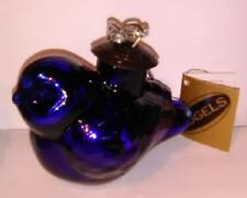 Cobalt Blue Bird Blown Glass German Kugel Ornament Midwest Cannon Falls Nwt