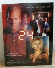 DVD SET - 24 - COMPLETE SEASON ONE 1  - BRAND NEW in PLASTIC WRAP - K SUTHERLAND