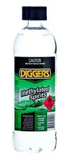 Diggers Methylated Spirits Metho 1 Litre Hard Surface Cleaner Disinfectant