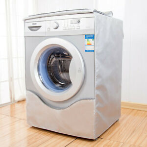 Cute Paste Washing Machine Cover for Drum-type Washer Waterproof Sunscreen Cover