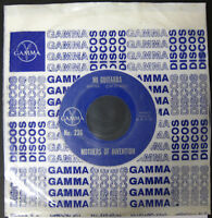 """FRANK ZAPPA & MOTHERS OF INVENTION Mi Guitarra 1969 MEXICO Promo Only 7"""" 45 RPM"""