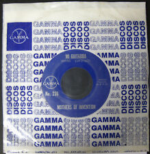 "FRANK ZAPPA & MOTHERS OF INVENTION Mi Guitarra 1969 MEXICO Promo Only 7"" 45 RPM"