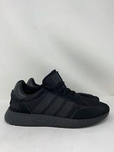 Adidas Originals I-5923 Iniki Boost Triple Black Men Shoes BD7525 Size 10.5