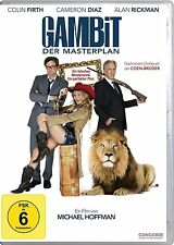 GAMBIT, Der Masterplan (Colin Firth, Alan Rickman, Cameron Diaz) NEU+OVP