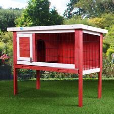 "36"" Wooden Chicken Coop Hen House  Rabbit Wood Hutch Poultry Habitat Cage"