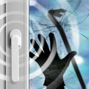 Schellenberg Alarmfenstergriff Alarmgriff für Fenster Türen weiss Balkontür