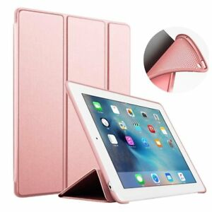 """iPad Case 2 3 4 Generation 9.7"""" Slim Magnetic Silicone Smart Cover For Apple"""