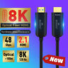 Fiber Optical HDMI Cable Ultra-HD (UHD) 8K 120GHz 48Gbs with Audio &Ethernet 2.1